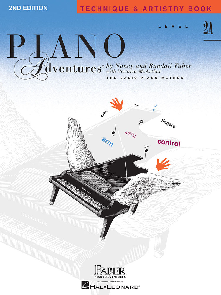 Faber: Piano Adventures-Level 2A Technique & Artistry Book