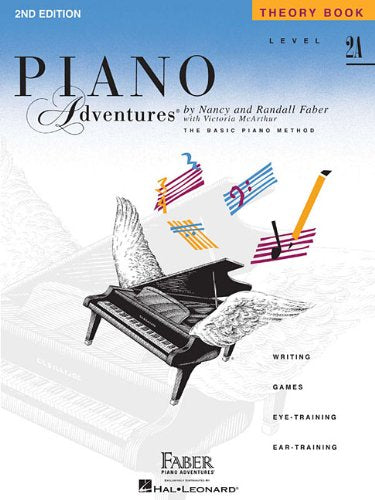 Faber: Piano Adventures-Level 2A Theory Book