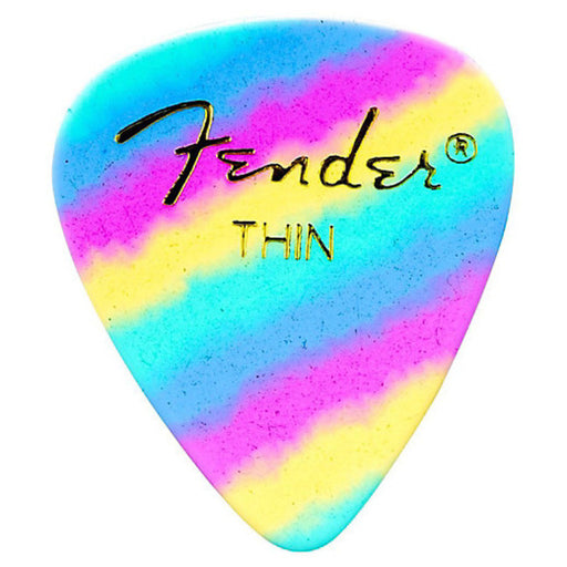 Fender 351 Thin Rainbow Pick