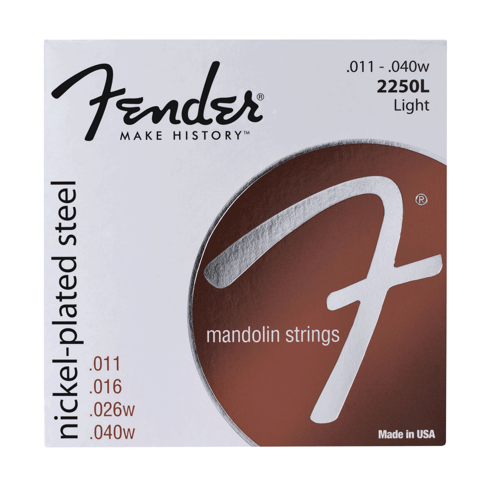 Fender Mandolin Strings Light .011-.040w 2250L
