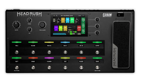 Headrush Pedal Board Amp and FX Modeling Processor
