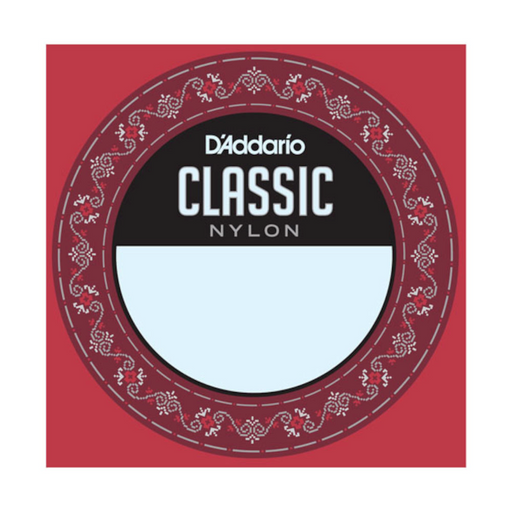 D'Addario J2702 Student Nylon Classical Guitar Single String, Normal Tension, Second String