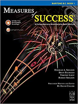 Measures of Success Baritone B.C. Book 1 (With CD's)