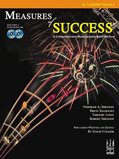 Measures of Success Bb Clarinet Book 2 (With CD's)