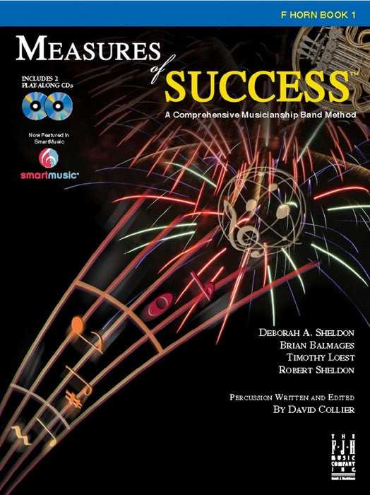 Measures of Success F Horn Book 1 (With CD's)