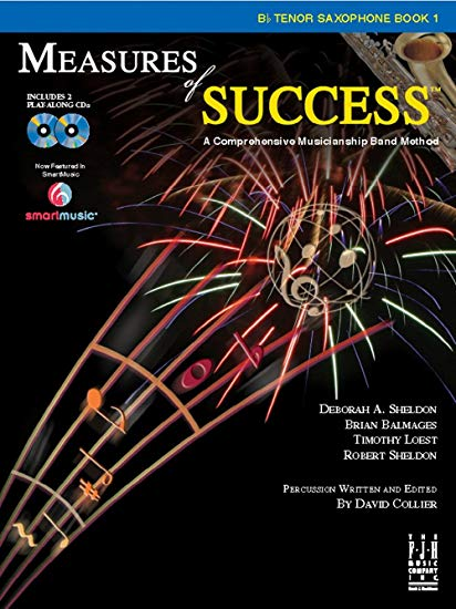 Measures of Success Bb Tenor Saxophone Book 1 (With CD's)