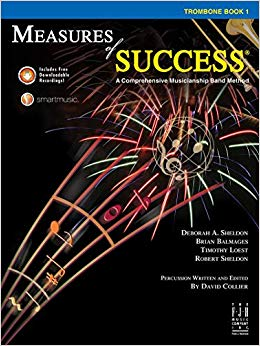 Measures of Success Trombone Book 1 (With CD's)