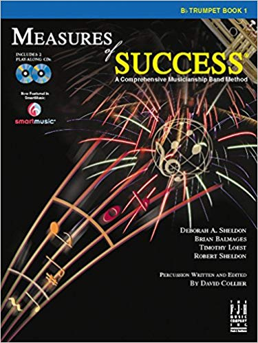 Measures of Success Bb Trumpet Book 1 (With CD's)