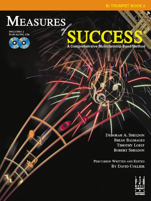 Measures of Success Bb Trumpet Book 2 (With CD's)