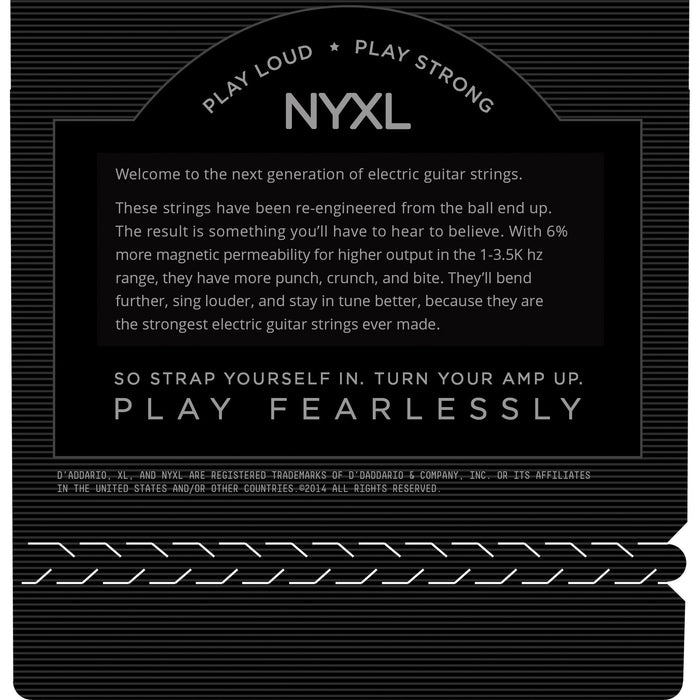 D'Addario NYXL1046 - NYXL Electric Guitar Set, Regular Light, 10-46 - Octave Music Store - 3