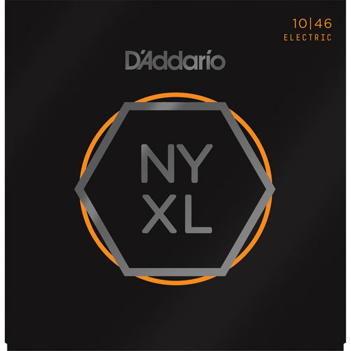 D'Addario NYXL1046 - NYXL Electric Guitar Set, Regular Light, 10-46 - Octave Music Store - 1