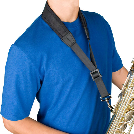 "22"" Neoprene Less Stress Saxophone Neck Strap"