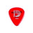 D'Addario Acrylux Reso Picks: Red 1.5mm