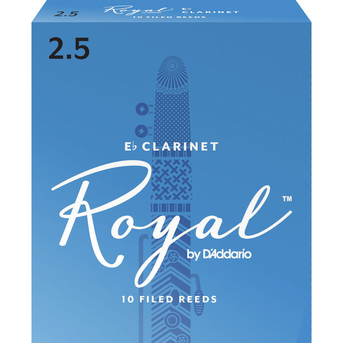 Royal by D'Addario Clarinet Reeds 2.5