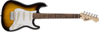 Squier: Strat SS Pack (short scale)-Brown Sunburst, 120V