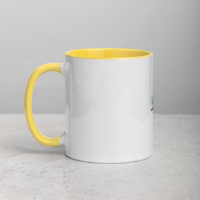 Music Life Mug with Color Inside
