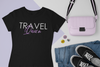 Travel Queen Tee - Black