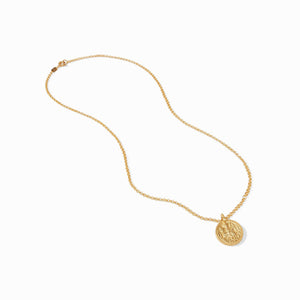 Coin Pendant - Gold