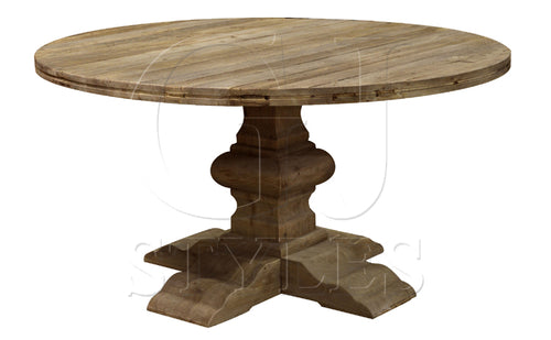 Elm Round Dining Table 60
