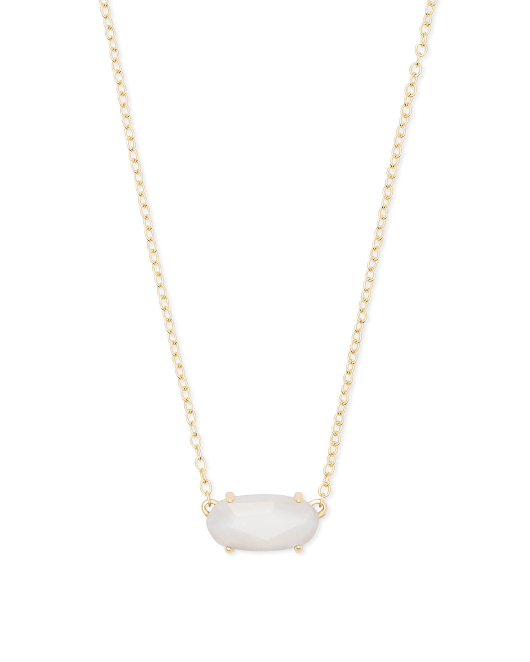 EVER NECKLACE GOLD WHITE MOP