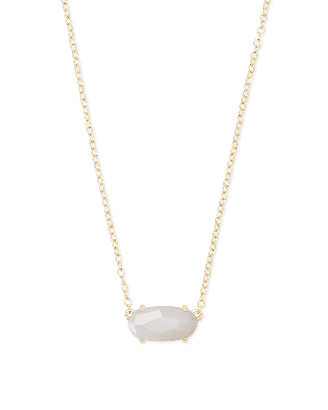 EVER NECKLACE GOLD IVORY MOP