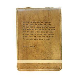 Leather Journal J.R.R. Tolkien 7 inchx9.75 inch
