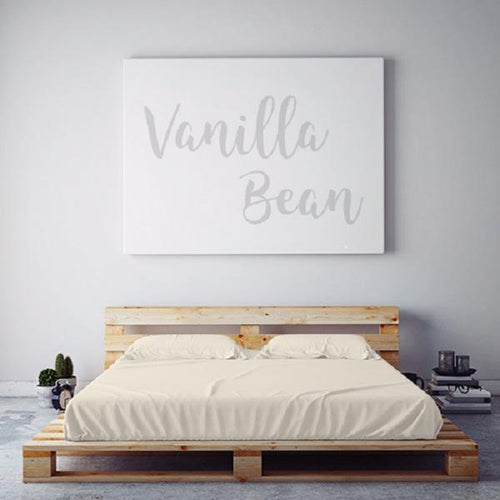 $55 VANILLA BEAN September Feature Sheet Set ~ Regular King Size