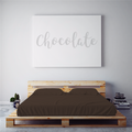$55 CHOCOLATE February 2018 Feature Color Sheet Set ~ XL FULL DORM