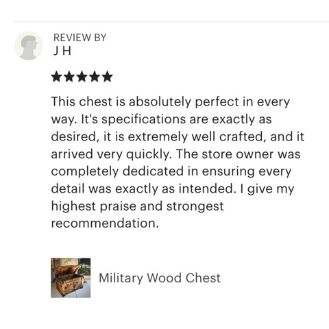 Review of Military Chest