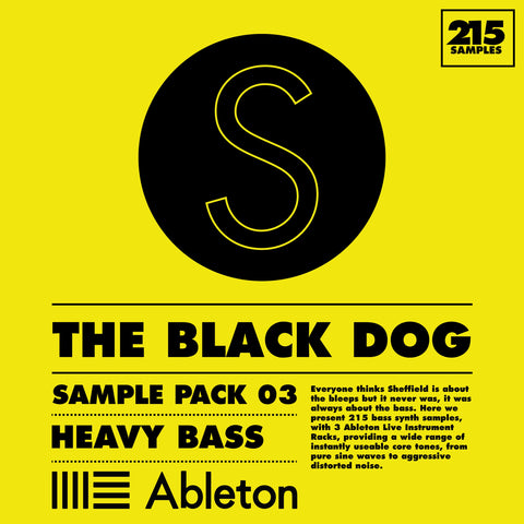 Sample Pack 03: Heavy Bass by The Black Dog (Studio)
