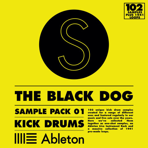 Sample Pack 01: Kick Drums by The Black Dog (Studio)