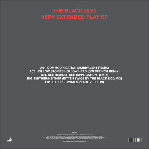 Very Extended Play EP by The Black Dog (Downloads)