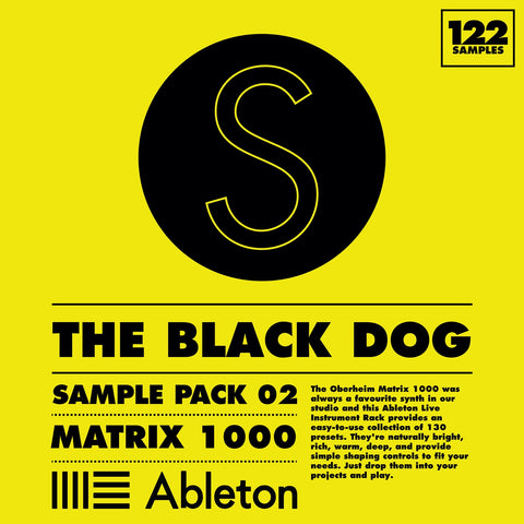 Sample Pack 02: Matrix 1000 by The Black Dog (Studio)
