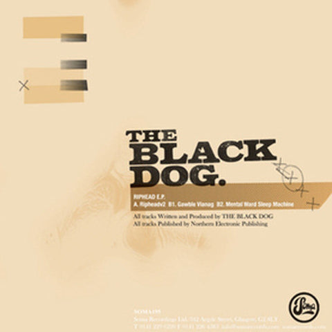 Riphead EP by The Black Dog (Downloads)