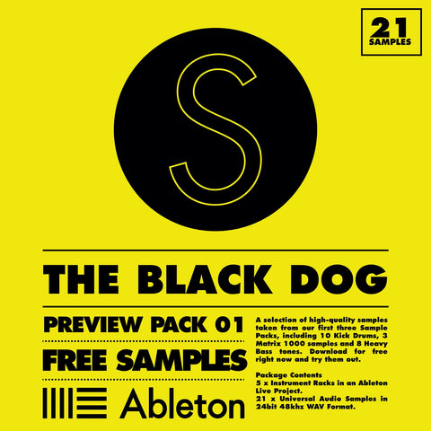Sample Packs PREVIEW by The Black Dog (Studio)