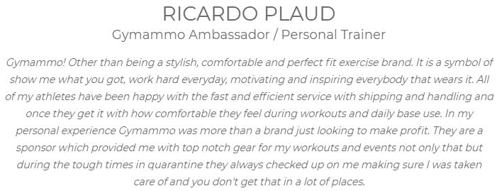 Gymammo ambassador reviews