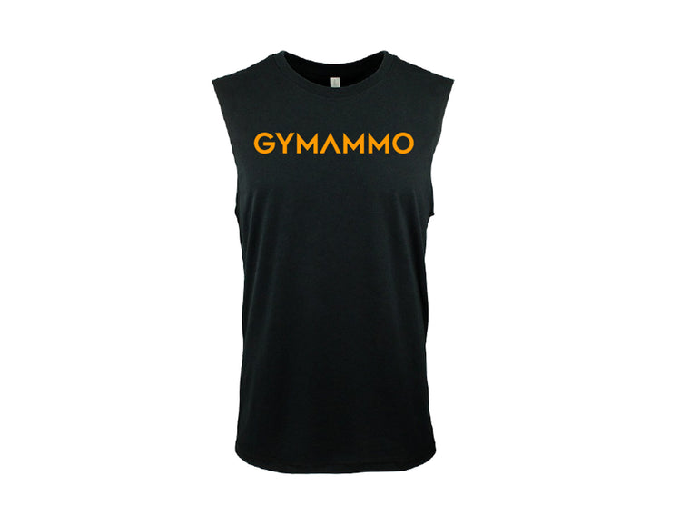 Men's Bold Muscle Tank - Black/Gold