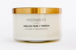 Candle - English Pear + Freesia - Gold Lid Collection 270g