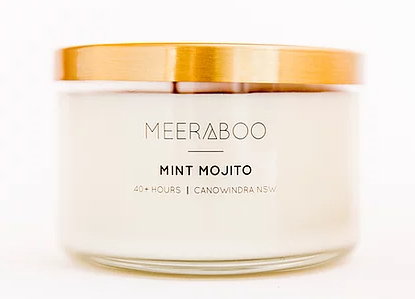 Candle - Mint Mojito - Gold Lid Collection 270g