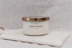 Candle - Patchouli + White Musk - Gold Lid Collection 270g