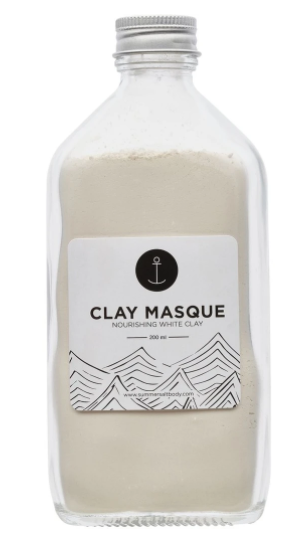 Masque - White Clay - 200ml (comes with brush + spoon)