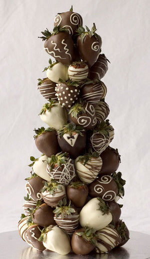 Chocolate Covered Strawberry Tower Candy Cake Weddings Favors And