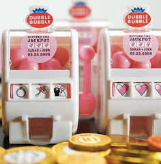 Las Vegas Wedding Gumball Mini Machine Wedding Favor