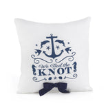 Nautical Wedding Ceremony Ring Pillow