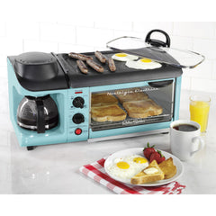 Wedding Gift Idea - Nostalgia BSET300 Retro Series Breakfast Station by Nostalgia