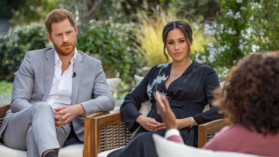Oprah Interview with Prince Harry and Meghan Markle
