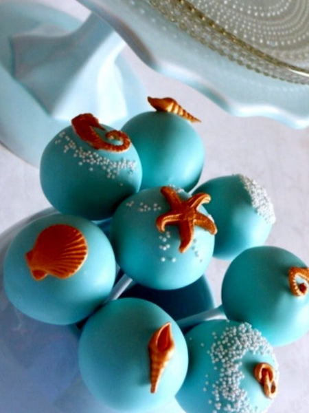 Beach Wedding Cake Pops