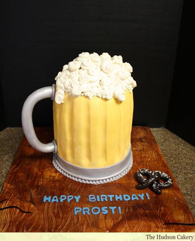 Beer Mug Groom's Cake