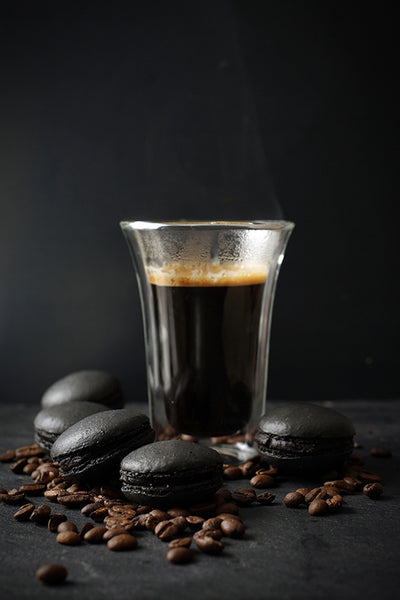 Coffee Black Maccaroon