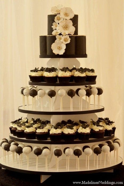 Mixed Up Cake Pop Wedding Cake